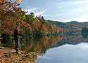 Fishing is very popular in Blowing Rock/Boone NC.  Chetola Lake in Chetola Resort -near our Rental House/Cabin --is stocked with trout often.