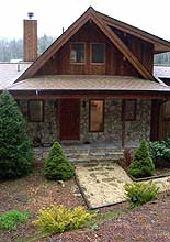 The Main Entrance to Our Wonderul Home in Blowing Rock, NC.