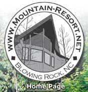 Back to our Blowing Rock, NC, Vacation Rental Home Page.